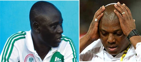 Keshi cannot believe it when Garba tell him he has not been paid for one year.