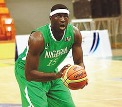 Nigerian Sporting icon serving his country